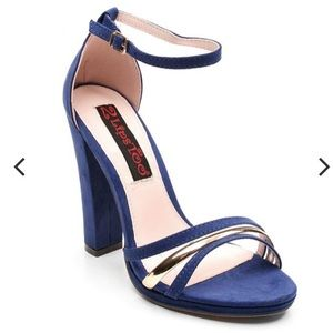 2 Lips Too Sexy Platform Sandals Too Tippet Blue🔥